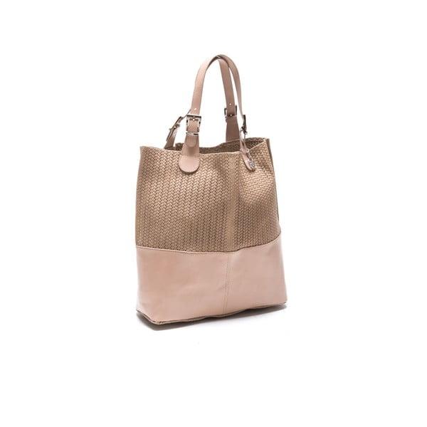 Skórzana torebka Roberta M. 848 Fango