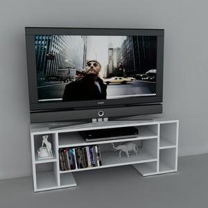 Stolik telewizyjny Romio White, 29,5x120x45,6 cm