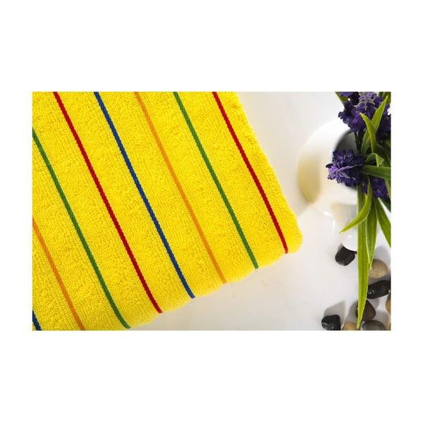 Ręcznik Rosy Yellow, 70x140 cm