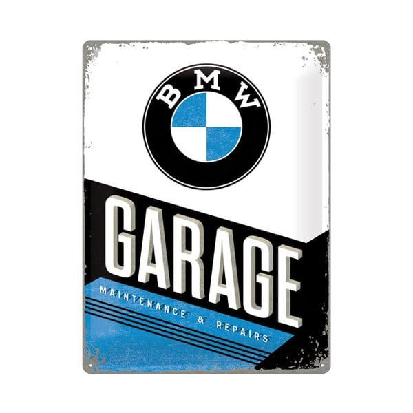 Tabliczka blaszana BMW Garage, 30x40 cm