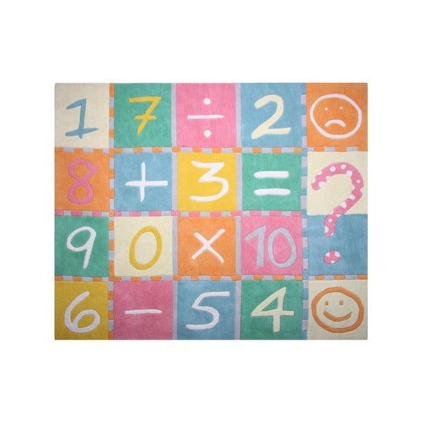 Dywan dziecięcy Marelle Maths, 130x160 cm