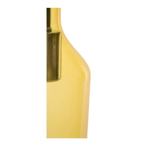 Żółta lampa wisząca Mauro Ferretti Bottle