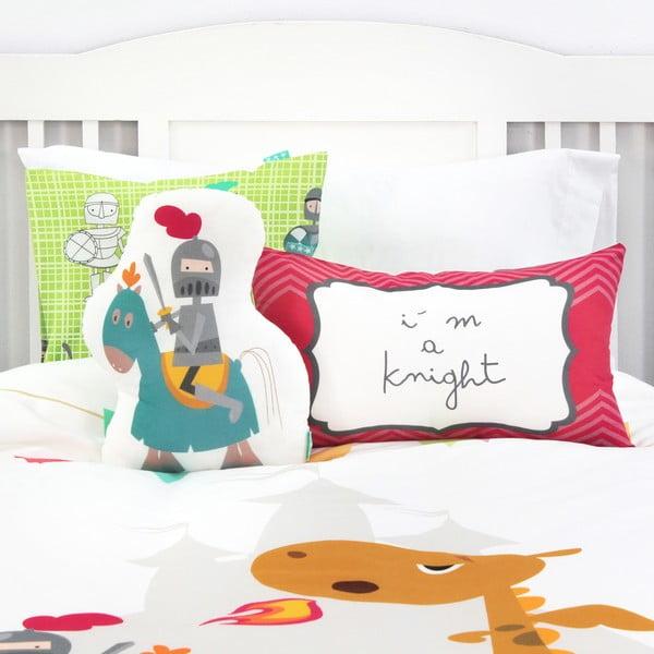 Bawełniana pościel dziecięca z poszewką na poduszkę Mr. Fox Knight, 140x200 cm