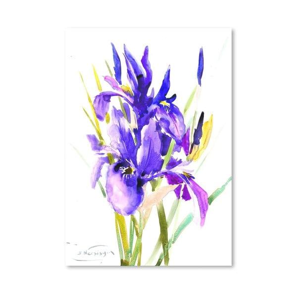 Plakat Irises (projekt Suren Nersisyan)