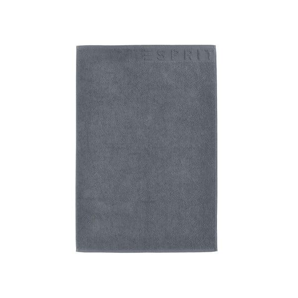 Grafitowy dywanik łazienkowy Esprit Solid 60x90 cm