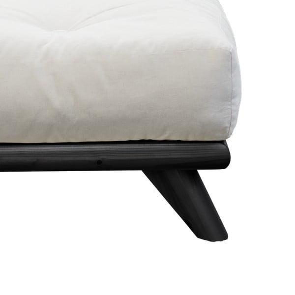 Łóżko Karup Senza Bed Black,160x200cm