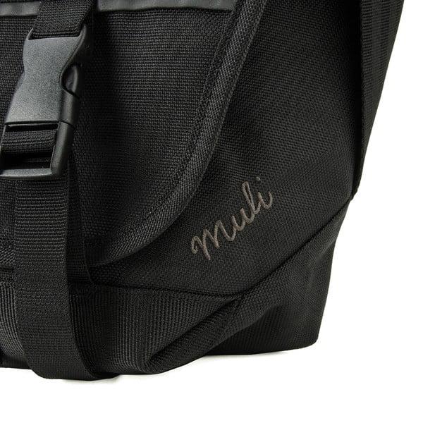 Torba przez ramię Muli Messenger M, czarna