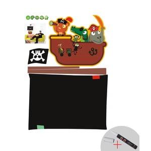 Tablica samoprzylepna z flamastrem Fanastick Pirate