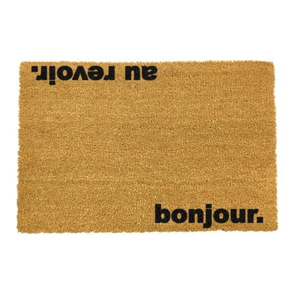 Wycieraczka Artsy Doormats Bonjour Au Revoir, 40x60 cm