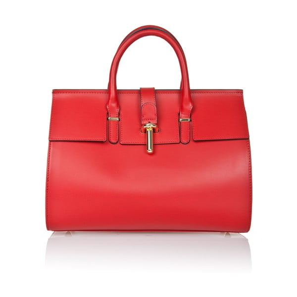 Skórzana torebka Markese 5156 Red