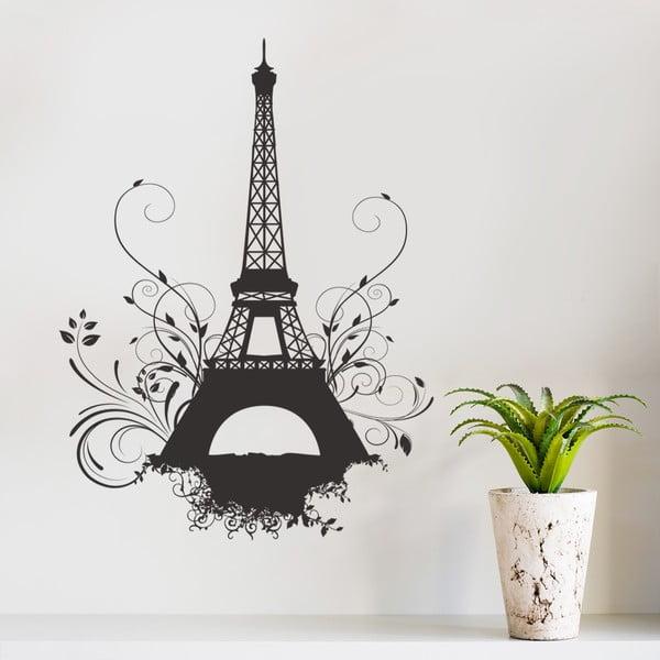 Naklejka dekoracyjna na ścianę Eiffel