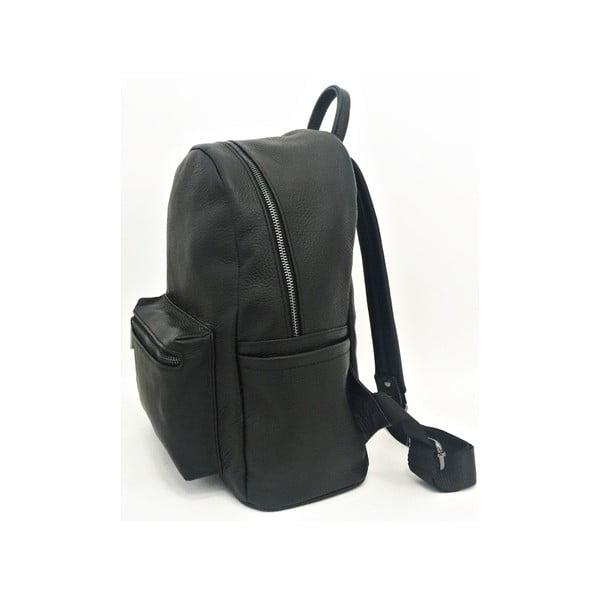 Skórzany plecak Momo Black