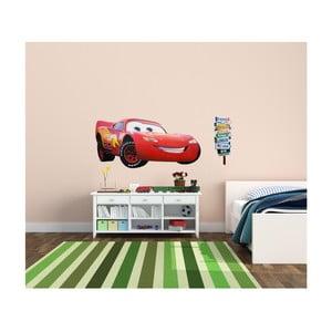 Naklejka dekoracyjna Błyszcząca McQueen, 110x50 cm