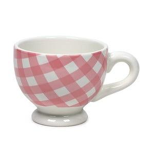 Kubek ceramiczny Marieke Pink Livia, 200 ml