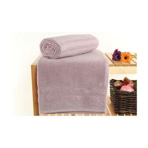 Zestaw 2 różowych ręczników kąpielowych Hidrophile, 70x140 cm