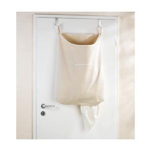 Beżowy wiszący kosz na pranie Wenko Door Laundry