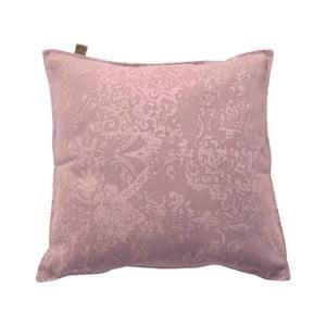 Różowa poduszka Overseas Vintage, 45x45 cm