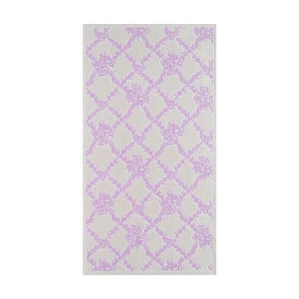 Liliowy wytrzymały dywan Scarlett, 100x150 cm
