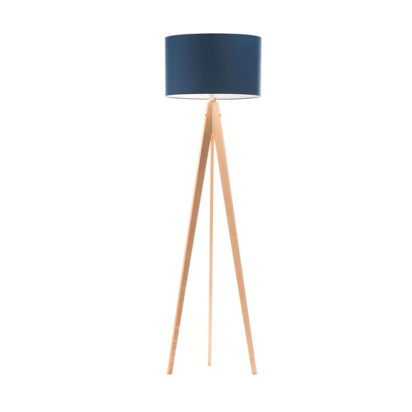 Lampa stojąca Artist Dark Blue/Birch, 125x42 cm