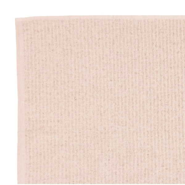 Komplet 2 beżowych ręczników frotte Casa Di Bassi Stripe, 50x90 cm