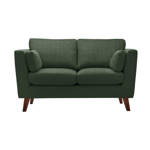 Ciemnozielona sofa dwuosobowa Jalouse Maison Elisa