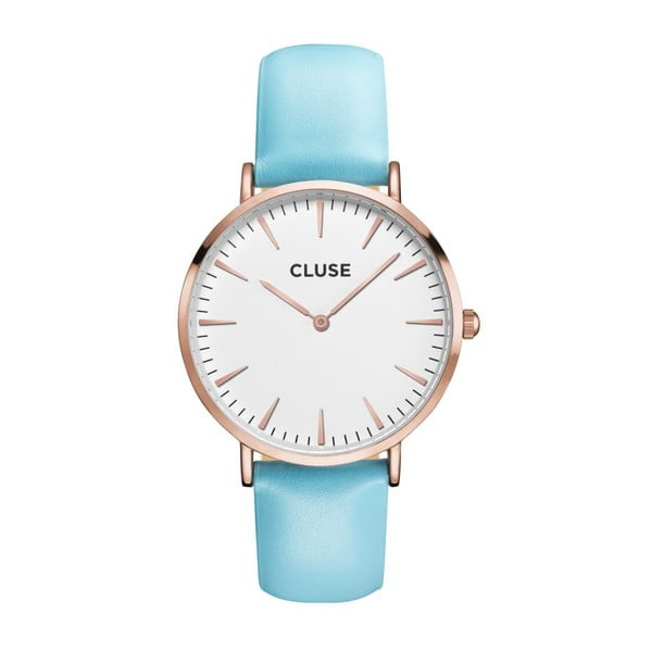 Zegarek CLUSE La Bohème Rose Gold/White Blue