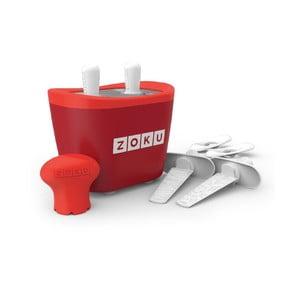 Czerwona maszynka do lodów Zoku Duo