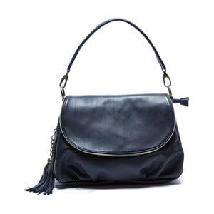 Niebieska skórzana torebka Sofia Cardoni Cristina