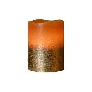 Brązowa świeczka LED Orange, 10 cm