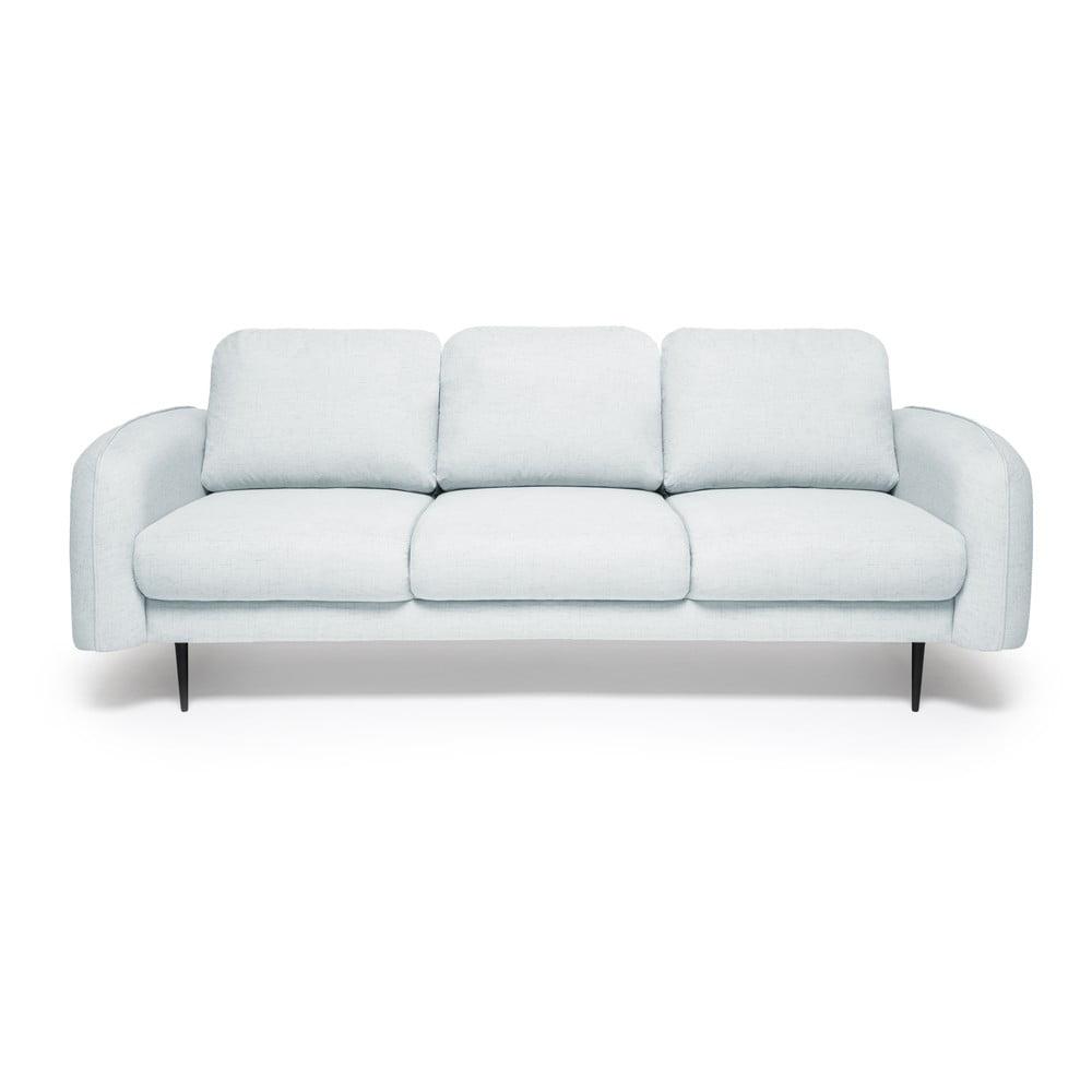 Jasnoniebieska sofa 3-osobowa Vivonita Skolm