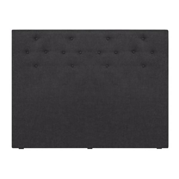 Ciemnoszary zagłówek łóżka Windsor & Co Sofas Phobos, 180x120 cm