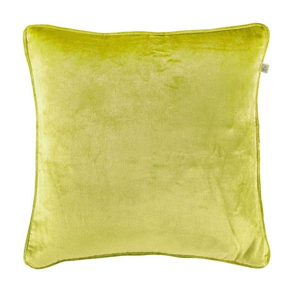 Poduszka Fluweel Lime, 45x45 cm