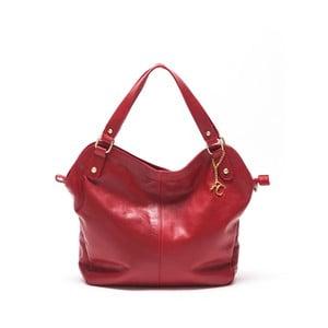 Skórzana torebka Renata Corsi 2114 Rosso