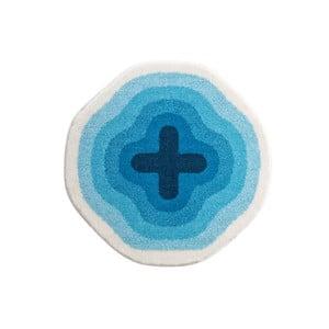 Dywanik łazienkowy Kolor My World III 60 cm, niebieski