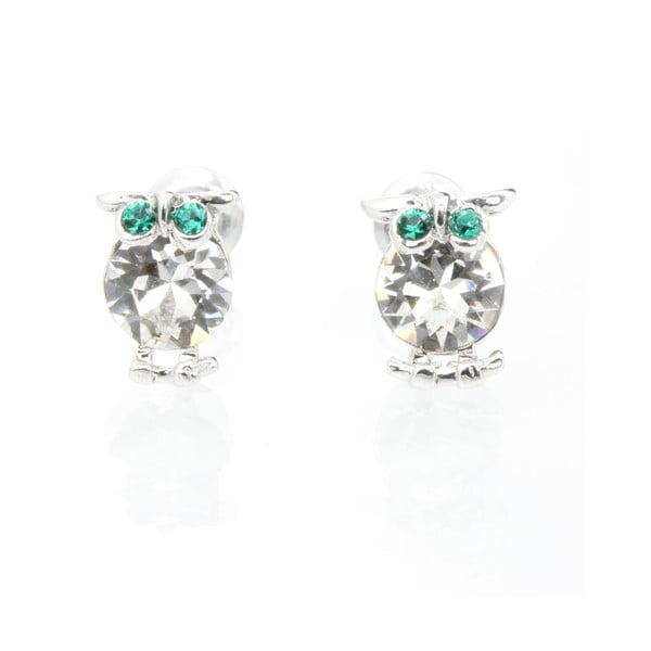 Kolczyki z kryształami Swarovski Elements Laura Bruni Owlet