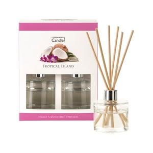 Zestaw 2 dyfuzorów zapachowych Copenhagen Candles Tropical Island, 40 ml