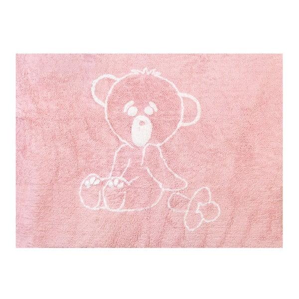 Dywan Chupete 160x120 cm, różowy