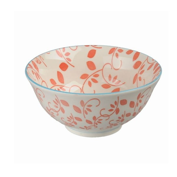 Porcelanowa miska Tayo Red, 15,5x7 cm