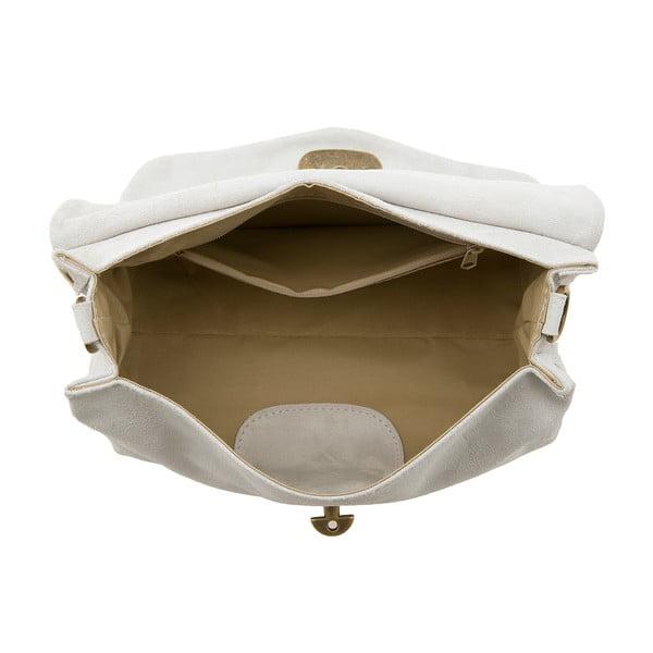 Skórzana torebka Italiana, white