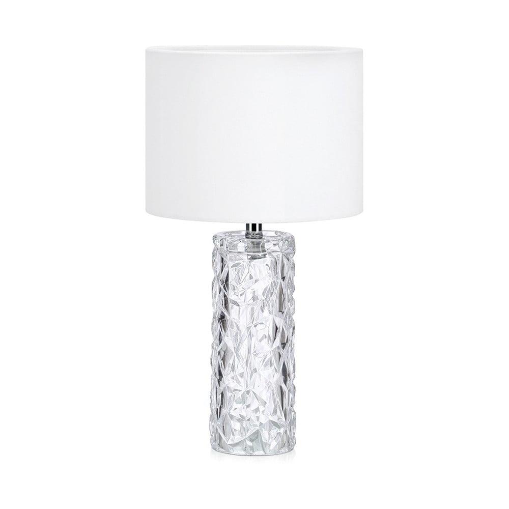 Biała lampa stołowa Markslöjd Madame