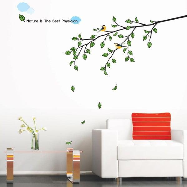 Naklejka Ambiance Tree and Bird Morning Tree