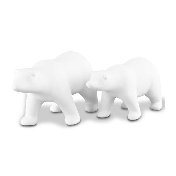 Zestaw 2 dekoracyjnych niedźwiedzi Icebear