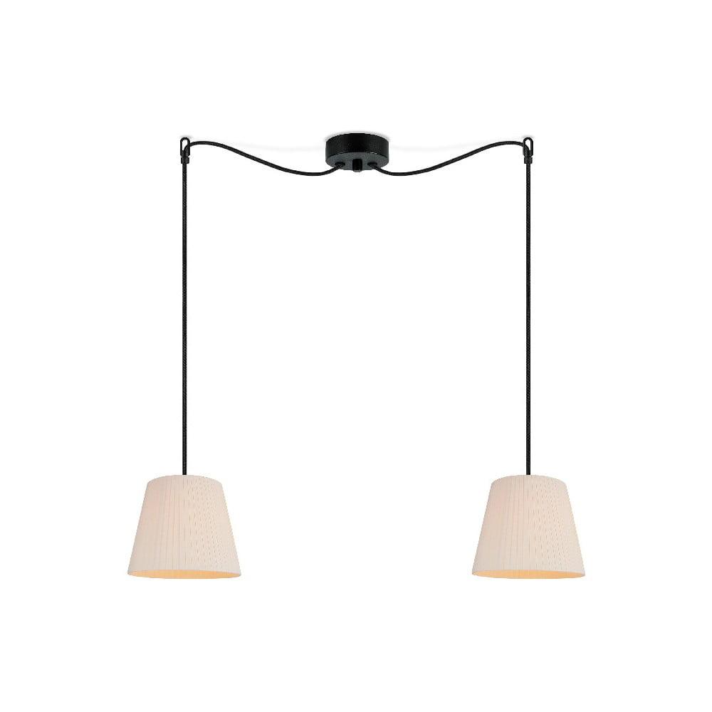Jasnobeżowa lampa wisząca Sotto Luce KAMI Elementary S 2S