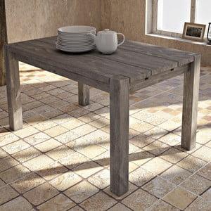 Stół z litej brzozy Seart, 140x90 cm