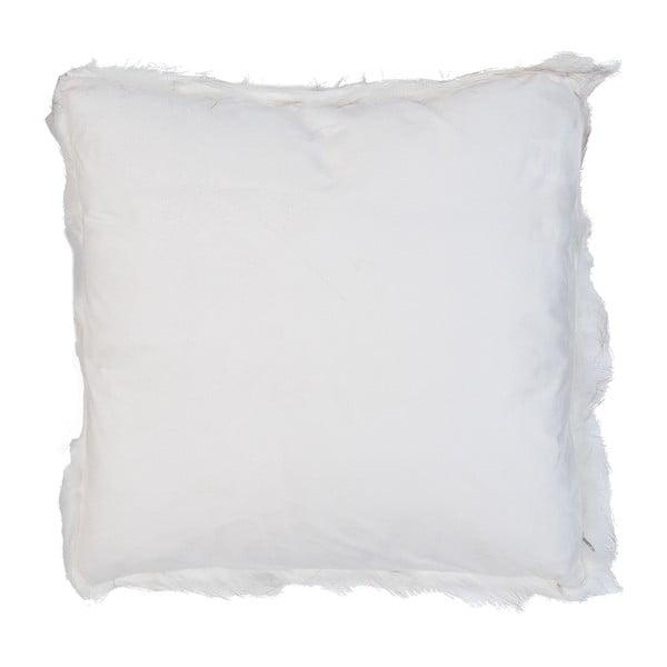 Biała poszewka na poduszkę Clayre Fur, 50x50 cm
