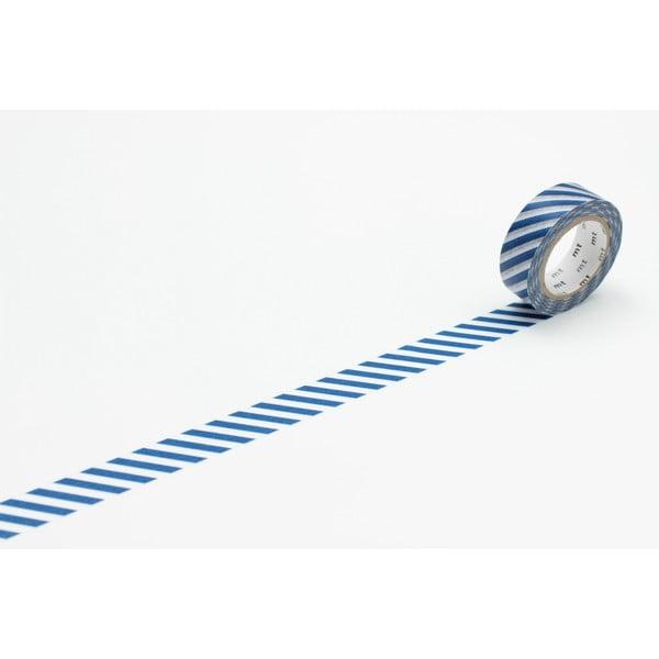 Taśma dekoracyjna washi Stripe Marine Blue
