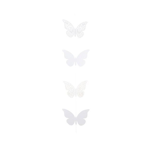 Papierowa girlanda Butterfly, 2 m