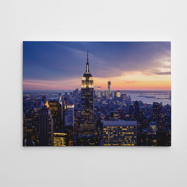 """Obraz na płótnie """"Empire State Building"""", 50x70 cm"""