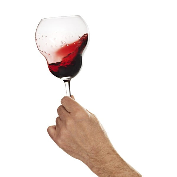 Kieliszki do wina czerwonego Bubblan, 4 szt