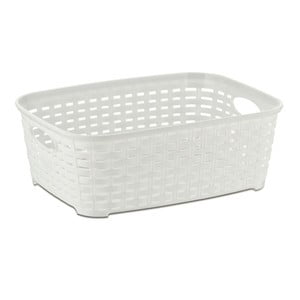 Biały koszyk Kela Raio